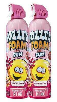 FOZZI's Foam 2 x Large Pink Soap, Good Fozzi Fun, 2 x 18.06 oz (Pack of 2) and Free Shipping