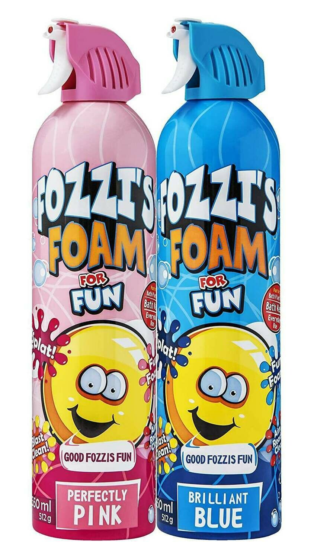 FOZZI's Foam 2 x Large Brilliant Blue & Perfectly Pink Soap, Good Fozzi Fun, 2 x 18.06 oz (Free Shipping)