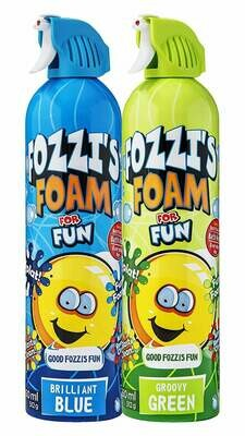 FOZZI's Foam 2 x Large Brilliant Blue & Groovy Green Soap, Good Fozzi Fun, 2 x 18.06 oz (Free Shipping)