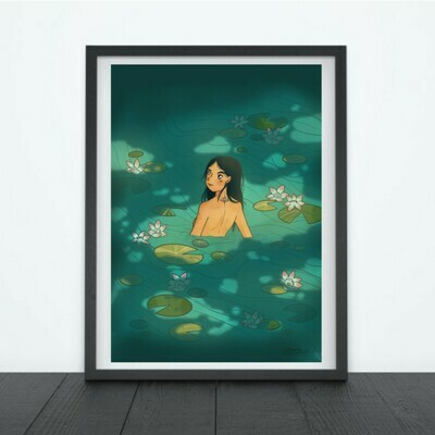 Print Lotus (Sticker / Print Option)
