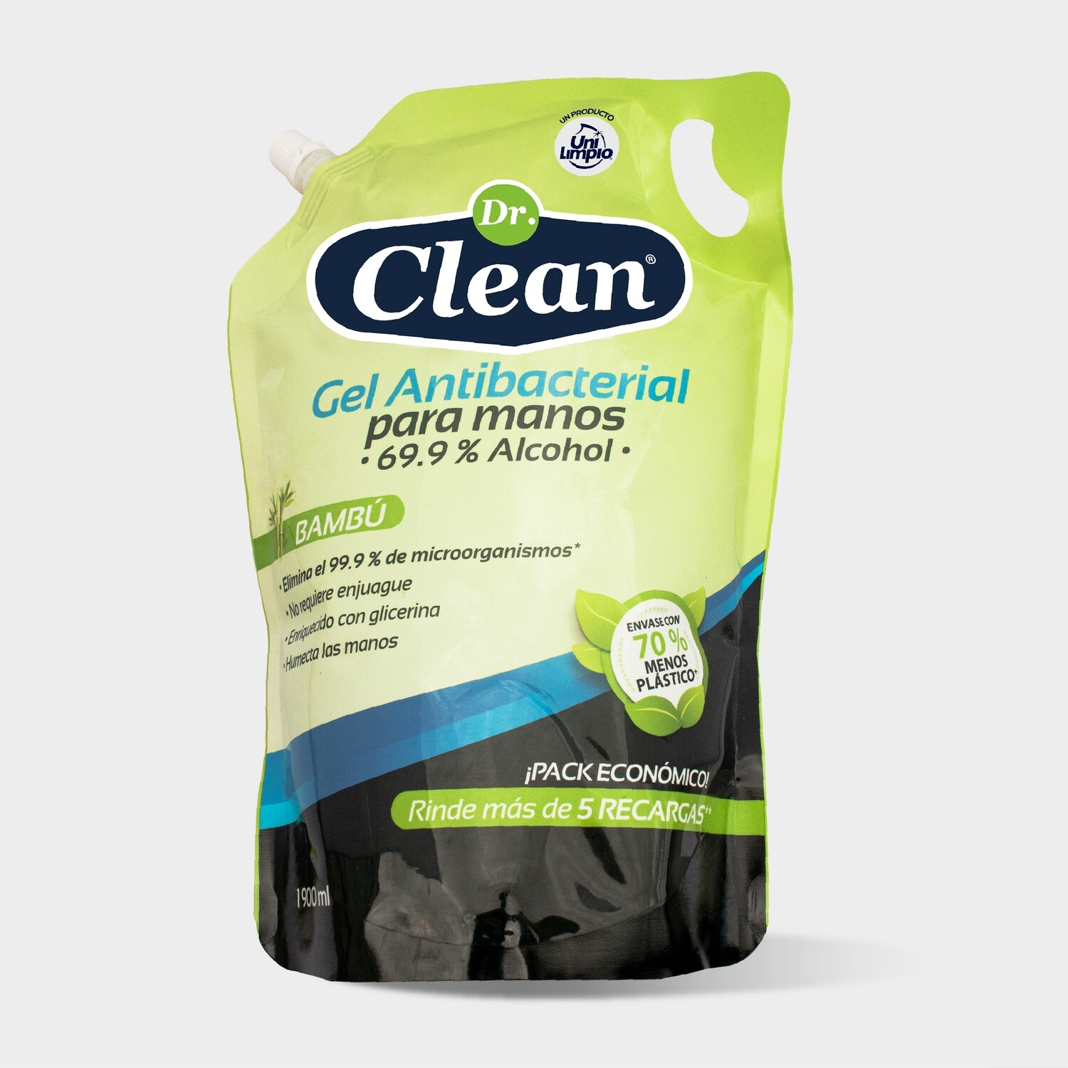Gel Antibacterial Dr. Clean Doypack 1900 ml