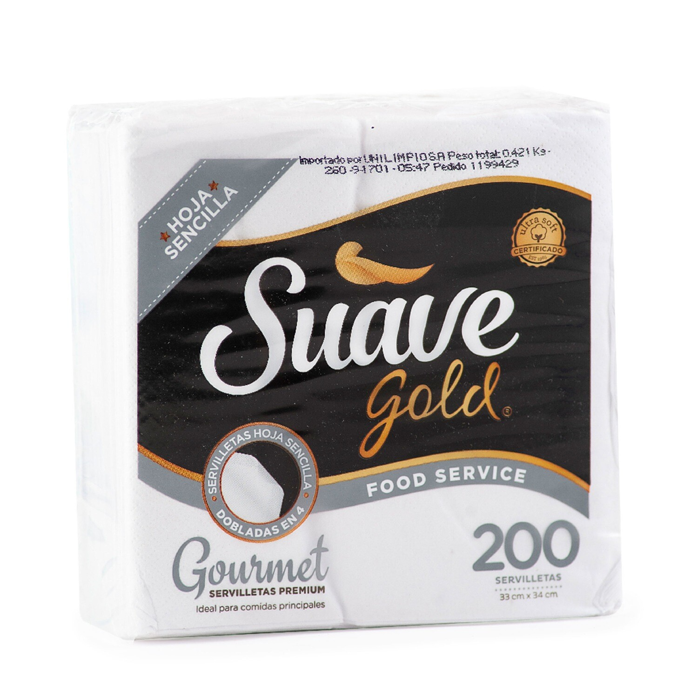 Servilleta Suave Gold Gourmet