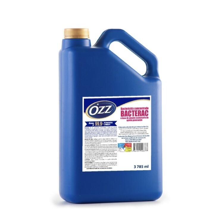 Bacterac Ozz con Amonio Cuaternario de 5ta Generación