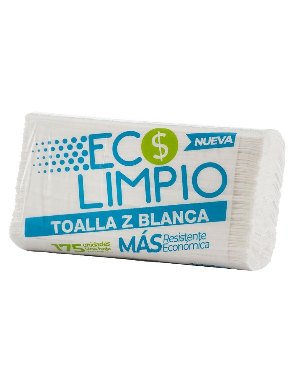 Toalla Z Ecolimpio Blanca