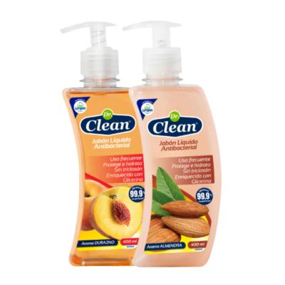 Jabón Líquido Antibacterial Dr. Clean 400 ml