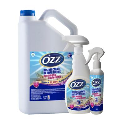 Desinfectante de Superficies con Amonio Cuaternario Ozz