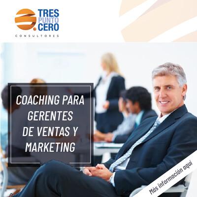 Coaching para Gerentes de Ventas y Marketing