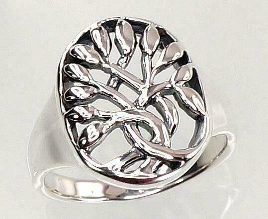 Sidabrinis žiedas, ADUN 2100721(POx-Bk)
