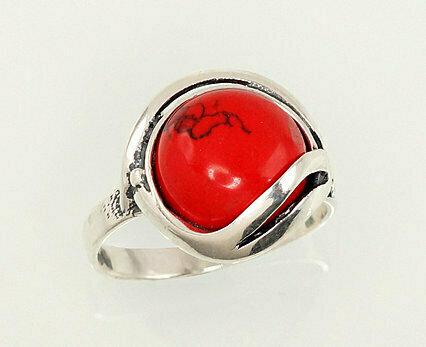 Sidabrinis žiedas, ADUN 2101191(POx-Bk)_COX-2