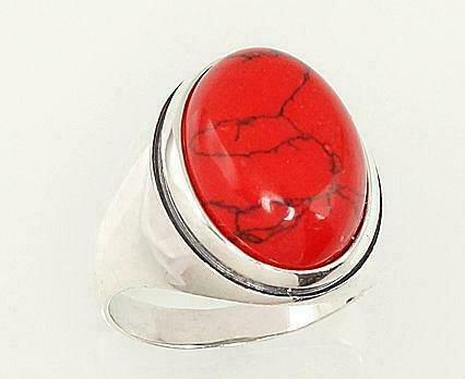 Sidabrinis žiedas, ADUN 2101192(POx-Bk)_COX