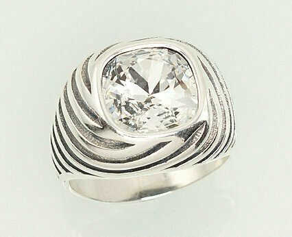 Sidabrinis žiedas, ADUN 2101209(POx-Bk)_SV