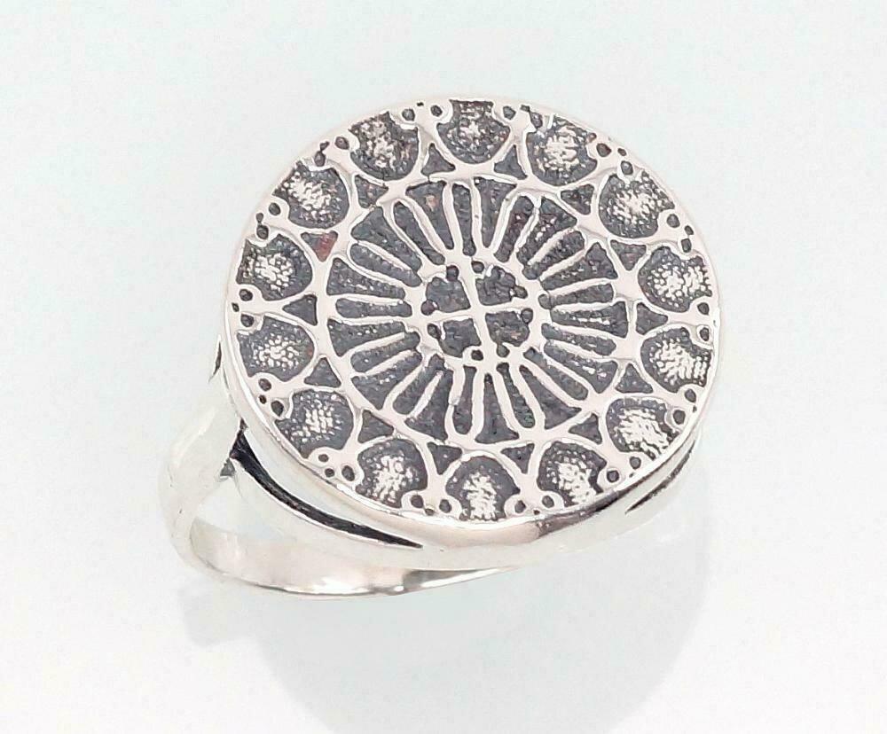 Sidabrinis žiedas, ADUN 2101396(POx-Bk)