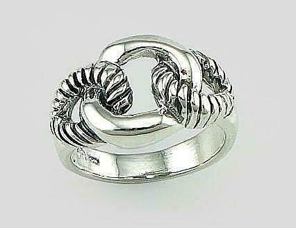 Sidabrinis žiedas, ADUN 2101493(POx-Bk)