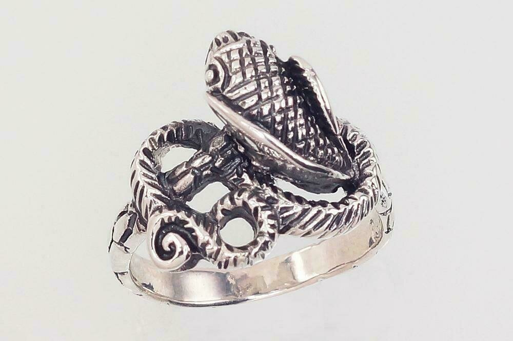 Sidabrinis žiedas, ADUN 2101602(POx-Bk)