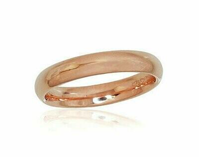 Auksinis Klasikinis Vestuvinis žiedas: 3,5 mm pločio. Įvairūs dydžiai. Modelis ADUM1100725(Au-R)