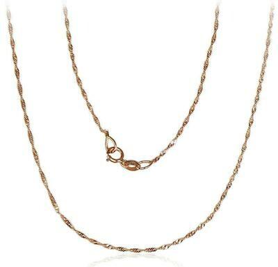 Auksinė grandinėlė, 55 cm ADUM1400030(Au-R)
