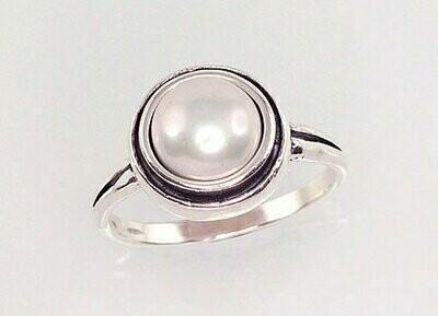 Sidabrinis žiedas, ADUN 2100949(POx-Bk)_PE