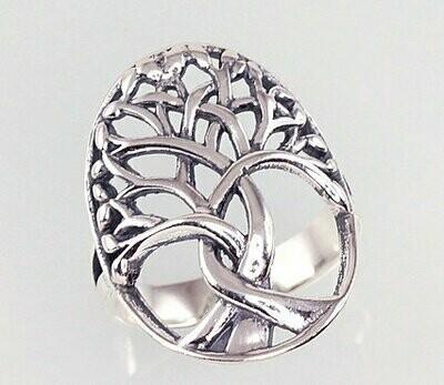 Sidabrinis žiedas, ADUN 2100926(POx-Bk)