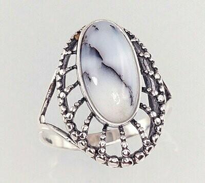 Sidabrinis žiedas, ADUN 2100939(POx-Bk)_AGD