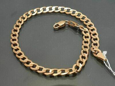 Auksinė apyrankė, 19 cm
