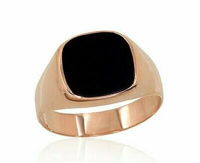 Auksinis vyriškas žiedas su oniksu, įvairūs dyždiai