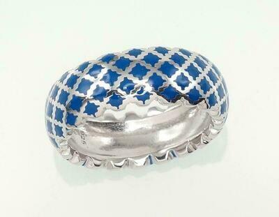 Sidabrinis žiedas, ADUN 2101064(PRh-Gr)_ML-B