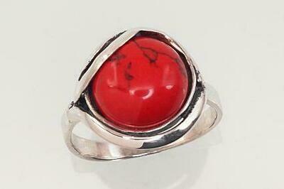 Sidabrinis žiedas, ADUN 2101191(POx-Bk)_COX
