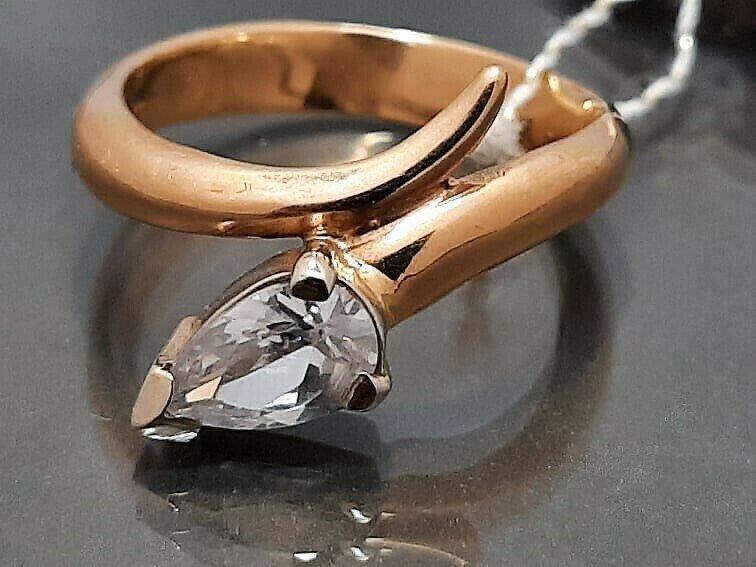 Auksinis žiedas. Dydis 17,5