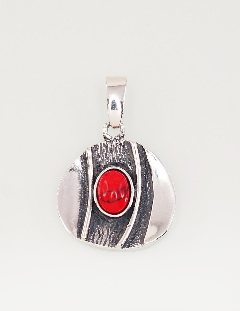 Sidabrinis moteriškas žiedas Modelis ADUM#2301557(POx-Bk)_COX