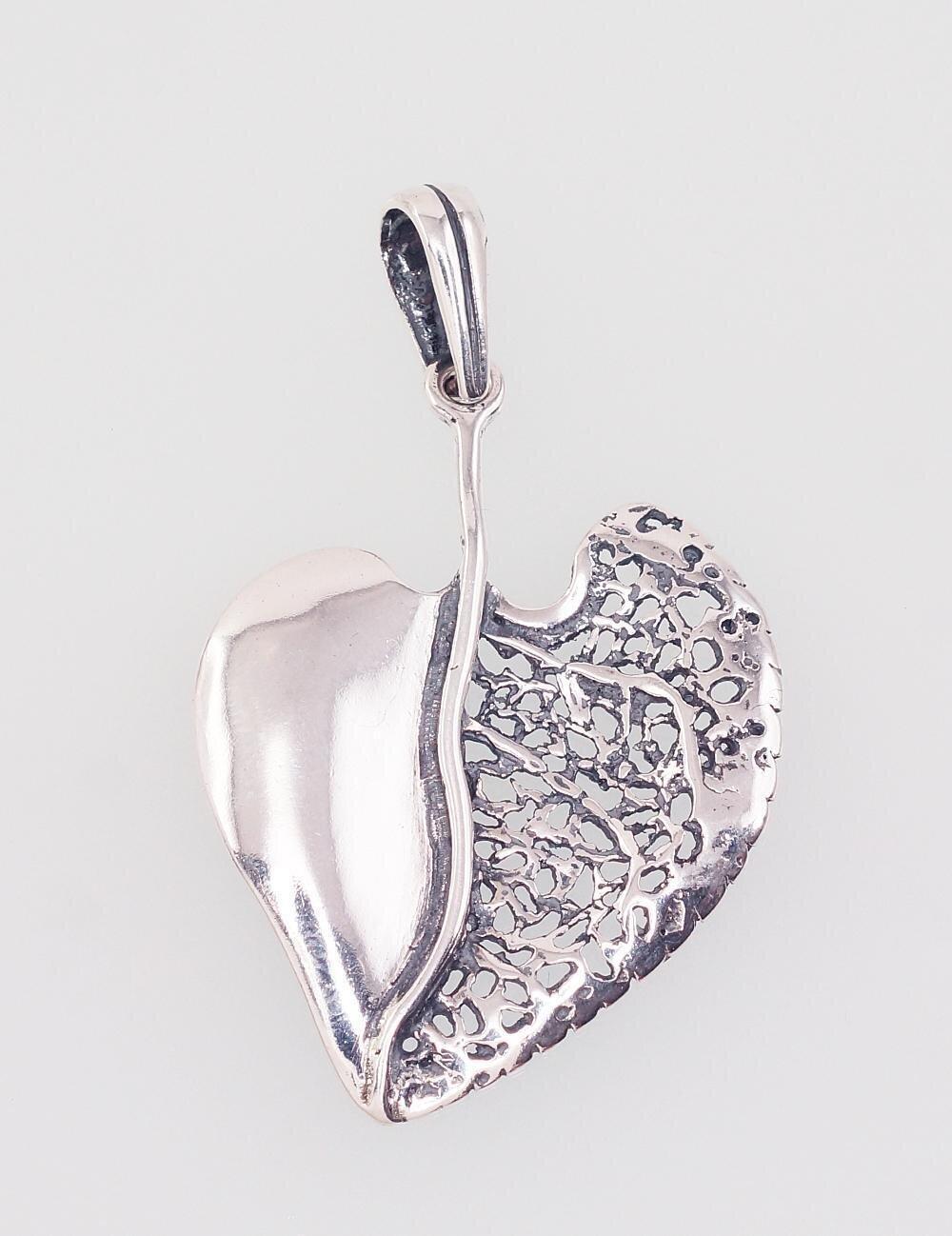 Sidabrinis moteriškas žiedas Modelis ADUM#2301682(POx-Bk)