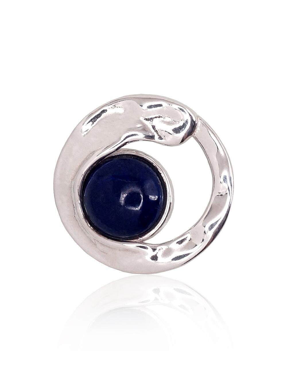 Sidabrinis moteriškas žiedas Modelis ADUM#2301759(PRh-Gr)_LZ
