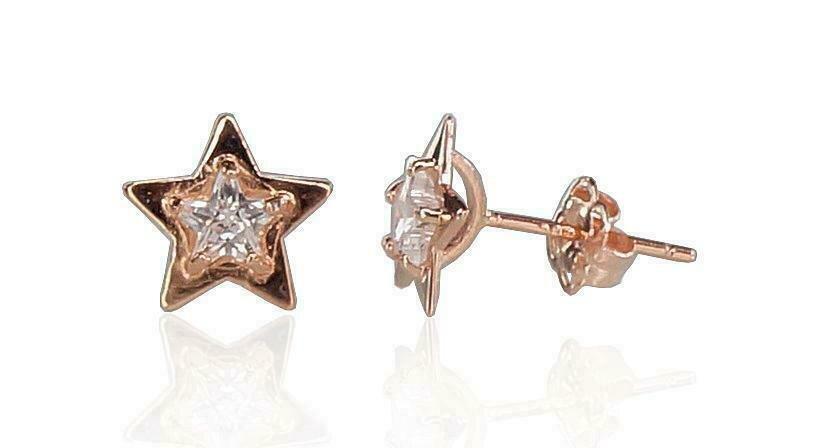 Auksiniai auskarai Žvaigždutė
