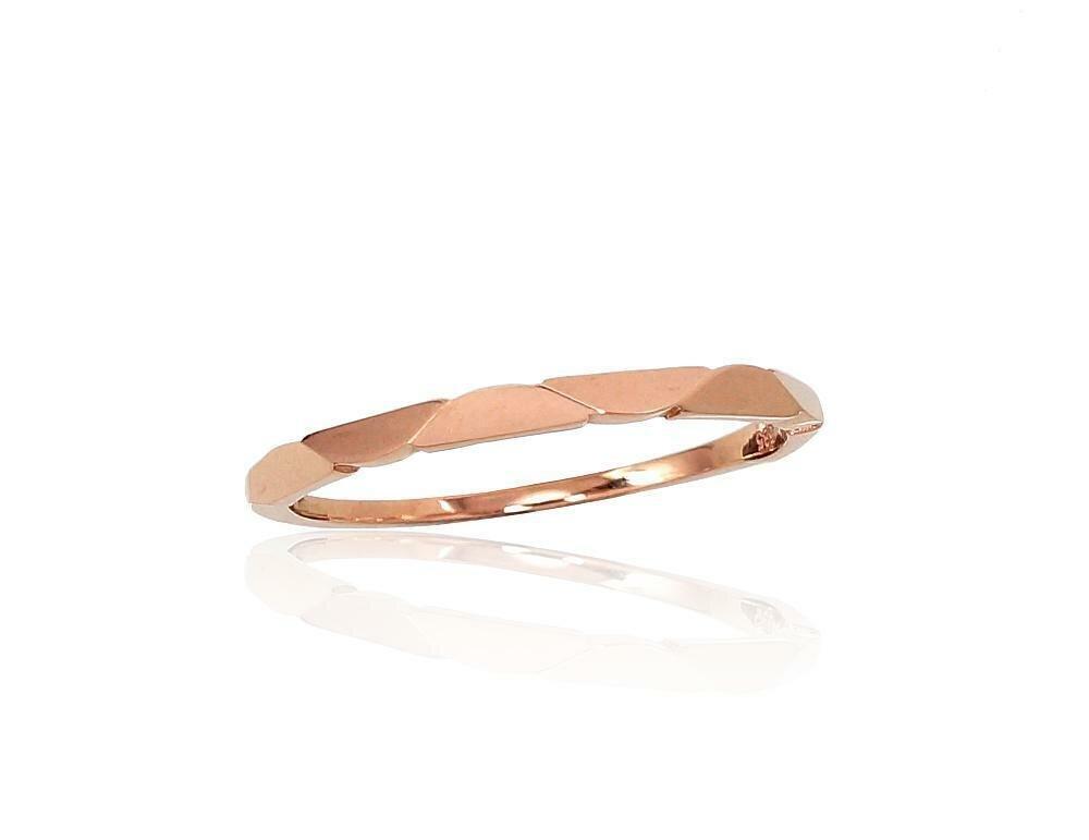 Moteriškas Žiedas, modelis ADUM1100859(Au-R), Raudonas Auksas