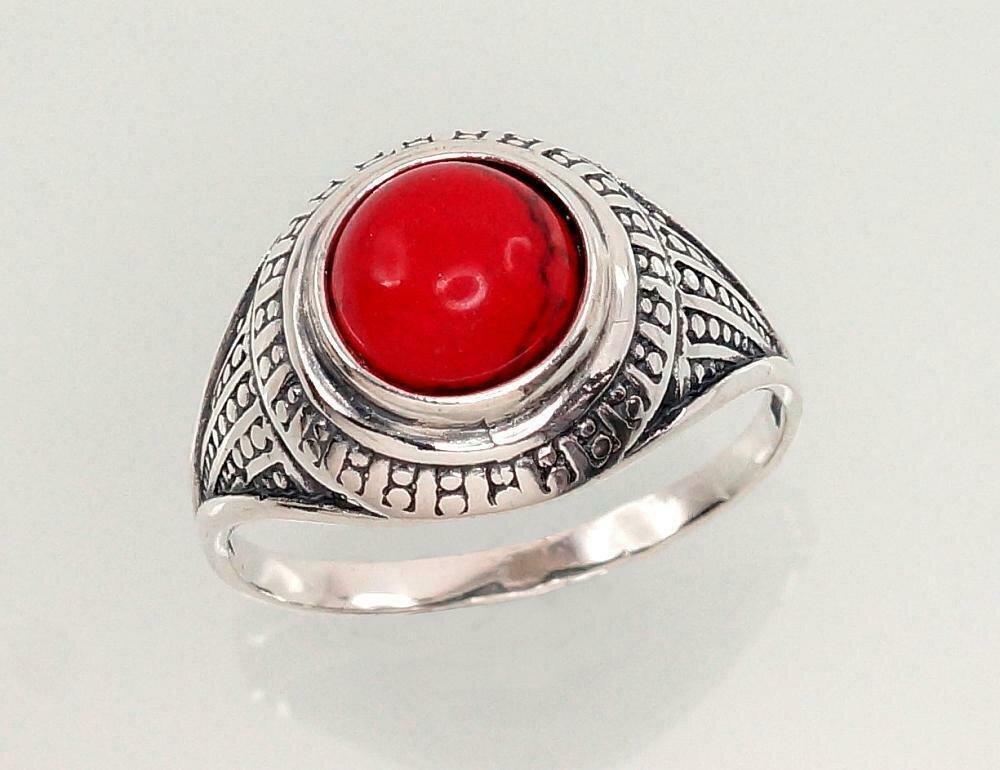 Sidabrinis žiedas, ADUN 2100947(POx-Bk)_COX