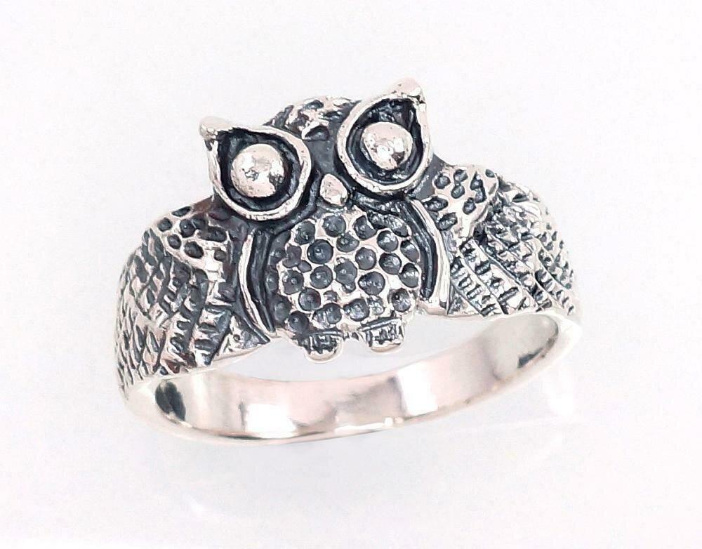 Sidabrinis žiedas, ADUN 2101385(POx-Bk)