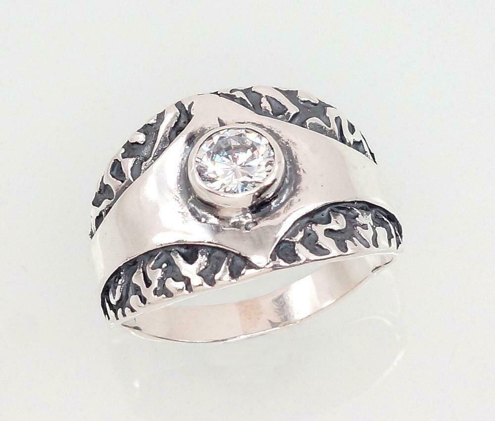 Sidabrinis žiedas, ADUN 2101402(POx-Bk)_CZ