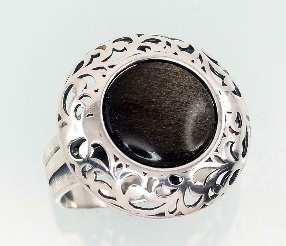 Sidabrinis žiedas, ADUN 2101430(POx-Bk)_OB