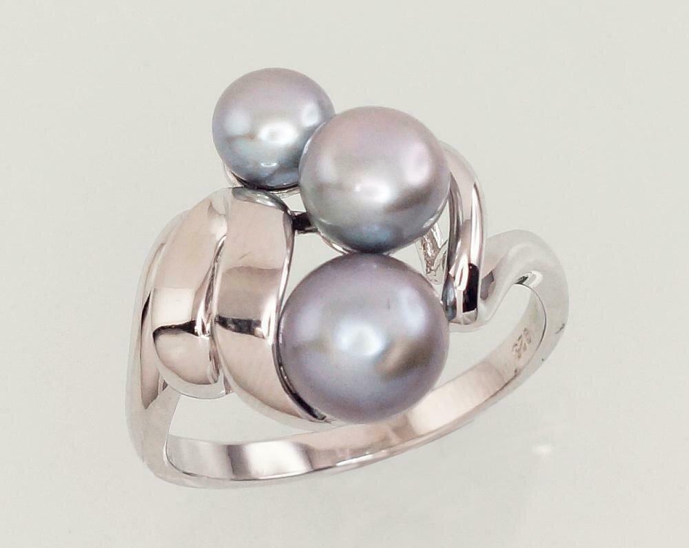 Sidabrinis žiedas, ADUN 2101454(PRh-Gr)_PE-GR