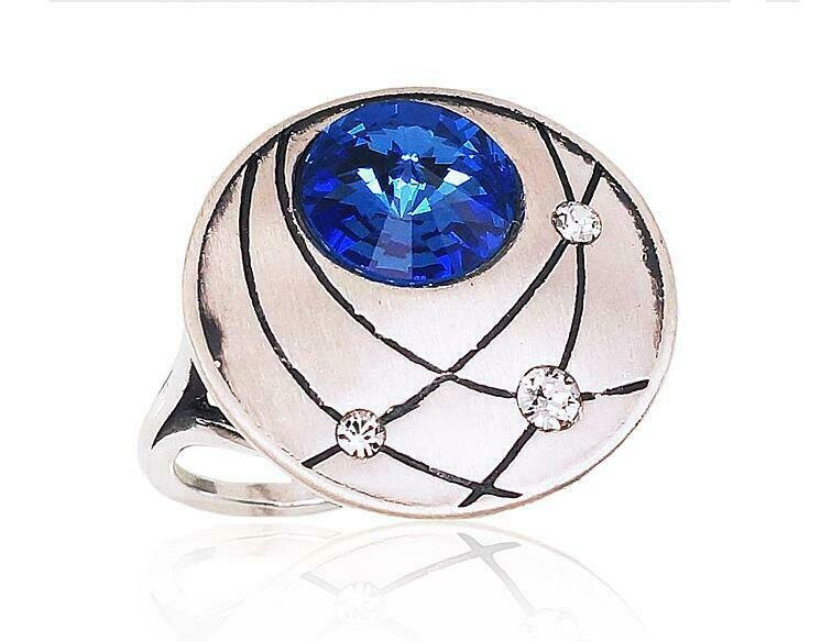 Sidabrinis žiedas, ADUN 2101573(Matt+POx-MattBk)_SV+SV-B