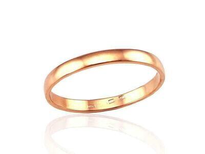Auksinis Klasikinis Vestuvinis žiedas: 3 mm pločio. Dydis 15. Modelis ADUM1100090(Au-R)