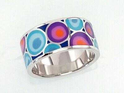 Sidabrinis žiedas, ADUN 2100913(PRh-Gr)_ML-LB+ML-PI