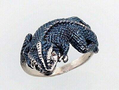 Sidabrinis žiedas, ADUN 2100679(POx-B)_CZ