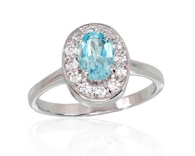 Sidabrinis žiedas, ADUN 2100119(PRh-Gr)_CZ+TZLB