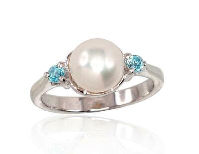 Sidabrinis žiedas, ADUN 2100567(PRh-Gr)_PE+TZB