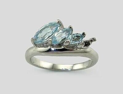 Sidabrinis žiedas, ADUN 2100221(PRh-Gr)_TZLB