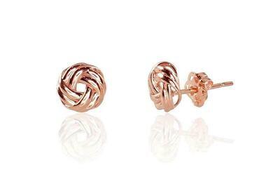 Auksiniai auskarai - su tvirtu užsegimu