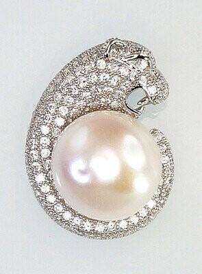 Sidabrinis moteriškas žiedas Modelis ADUM#2300590(PRh-Gr)_CZ+PE