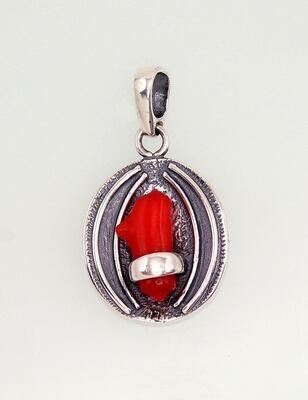 Sidabrinis moteriškas žiedas Modelis ADUM#2301555(POx-Bk)_CO