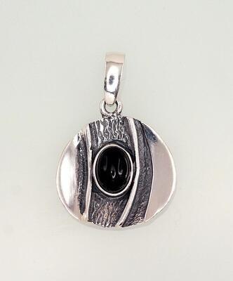Sidabrinis moteriškas žiedas Modelis ADUM#2301557(POx-Bk)_ON-2