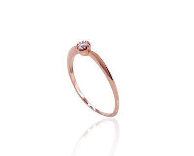 Auksinis sužadėtuvių žiedas modelis ADUM1100241(Au-R)_CZ